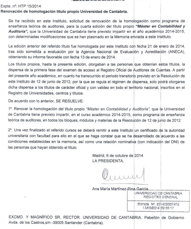 Homologacion-ICAC_2014-15