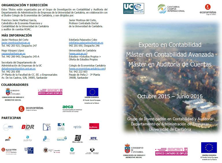 universidad de cantabria master: